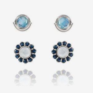 NWT Rue Royale Convertible Earrings